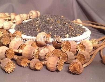 "Unwashed ""Filthy' Papaver Somniferum Opium Poppy Seeds | BULK | Organical Botanicals"