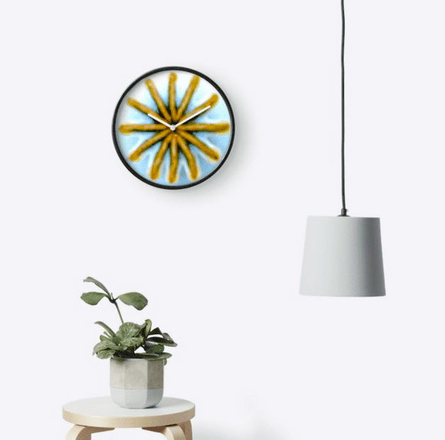 POPPY-CLOCK-wall